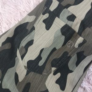 Camouflage Knit Jeggings from Agnes & Dora